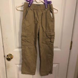 **2 Pairs ** Grey - Beige Cargo Boys pants size 8